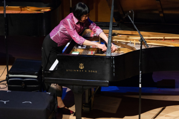 Photo Flash: Ecstatic Music Festival: Margaret Leng Tan Premiered George Crumb, Suzanne Farrin & Kelly Moran