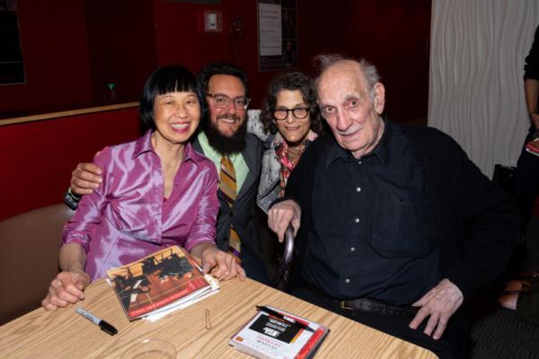 Margaret Leng Tan, Ecstatic Music Festival Curator Judd Greenstein, Merkin Concert Hall Managing Director Amy Roberts Frawley, George Crumb