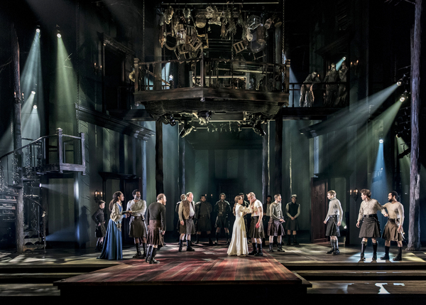 The company of Chicago Shakespeare Theater's production of Macbeth