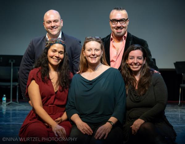 Creative Team: Chad Kessler, David James Boyd, Alexandria Wailes, Kim Weild and Kori Rushton
