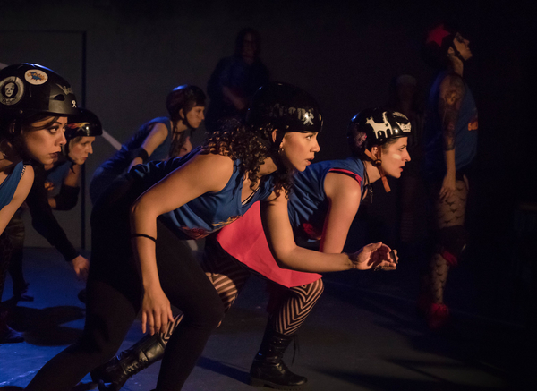 Photo Flash: FOR THE LOVE OF (or the roller derby play) at Theatre of NOTE