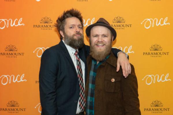Matt Kahler (ensemble) and Jon Patrick Penick (Billy)