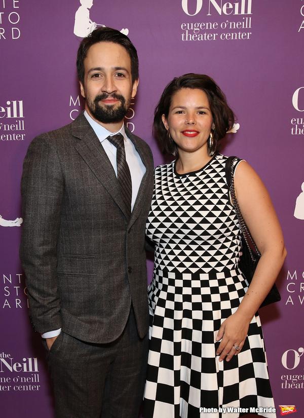 Lin-Manuel Miranda and Vanessa Nadal  Photo