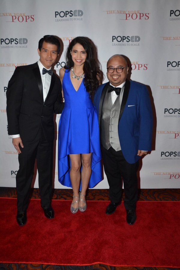 Telly Leung, Arielle Jacobs and Don Darryl Rivera