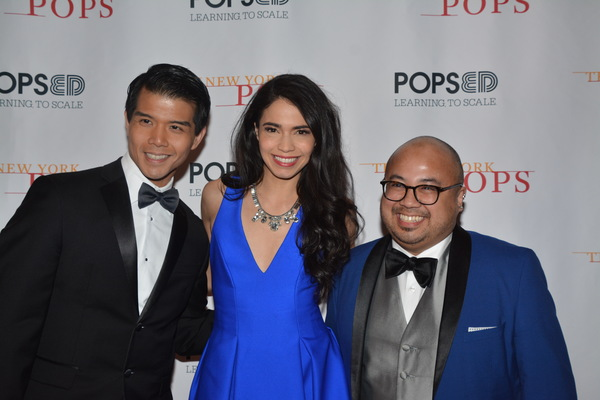 Telly Leung, Arielle Jacobs and Don Darryl Rivera Photo