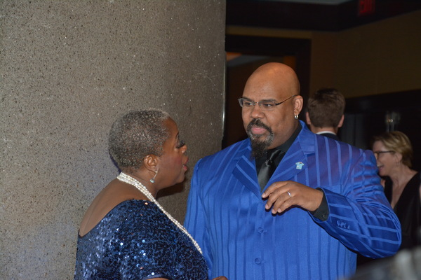 Lillias White and James Monroe Iglehart