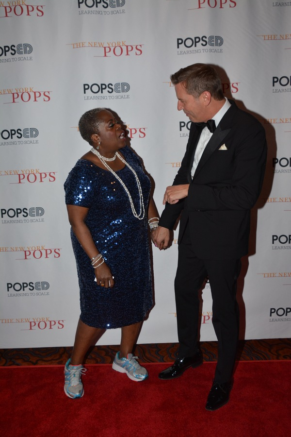 Lillias White and Steven Reineke