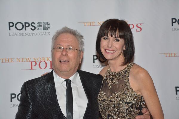 Alan Menken and Susan Egan