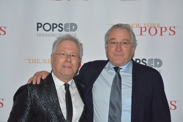 Alan Menken and Robert De Niro