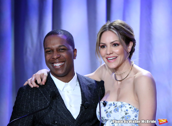 Photo Coverage: Leslie Odom, Jr. and Katharine McPhee Announce the 2018 Tony Award Nominations