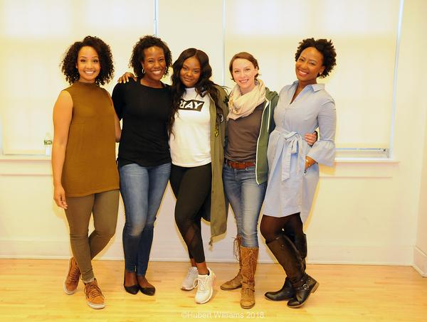 Stephanie  Umoh,  Crystal  Lucas-Perry,  Shanice  Williams,  Rebecca  Brockman,  Anita  Welch