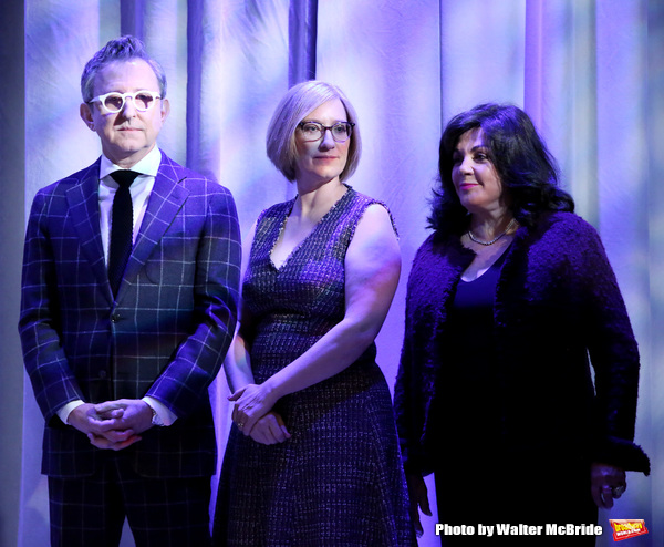 Thomas Schumacher, Heather Hitchens, and Charlotte St. Martin