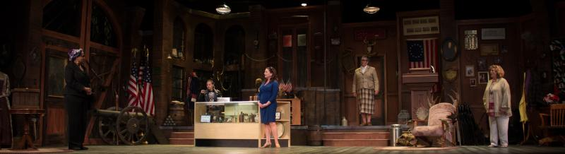BWW Review: GEORGE WASHINGTON'S TEETH at Florida Rep is Historically Hysterical!