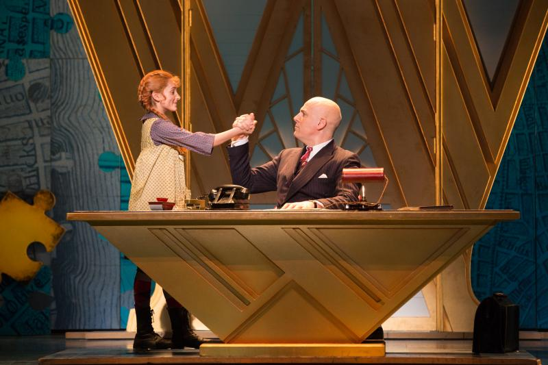 BWW Review: Your Kids Will Love ANNIE at Mirvish