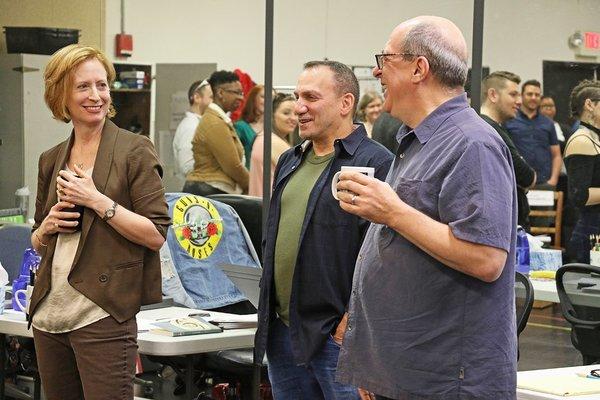 Susan V. Booth, Danny Pelzig and Robert Spano  Photo