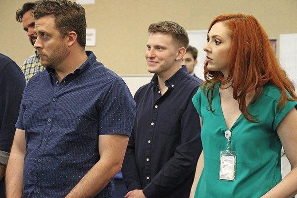 Corey James Wright, Ben Thorpe and Julie Key