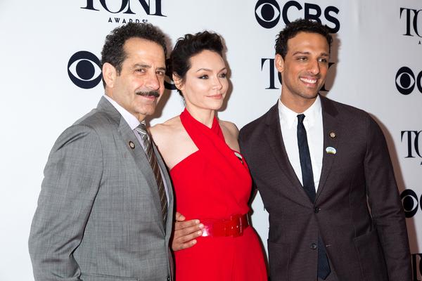 Tony Shalhoub, Katrina Lenk, Ari'el Stachel