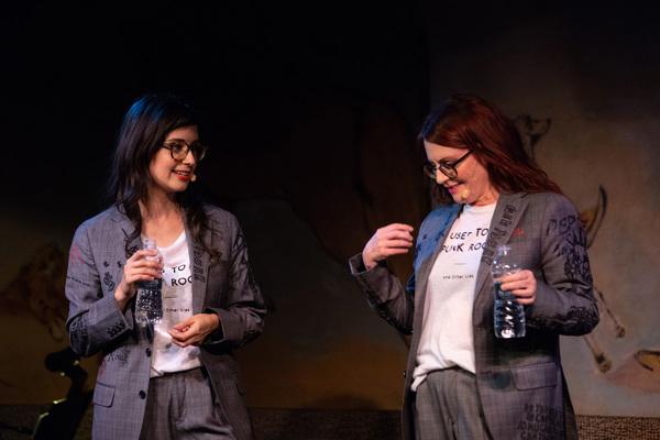 Megan Mullally and Stephanie Hunt Photo