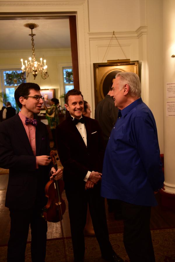 Aaron Weinstein, Jeff Harnar, Ed Dixon