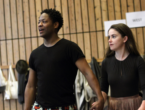 Photo Flash: Inside Rehearsal For TRANSLATIONS at the National Theatre