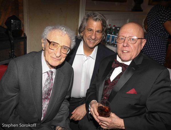 Sheldon Harnick, David Rockwell, Albert Bergeret, Artistic Director/General Manager N Photo