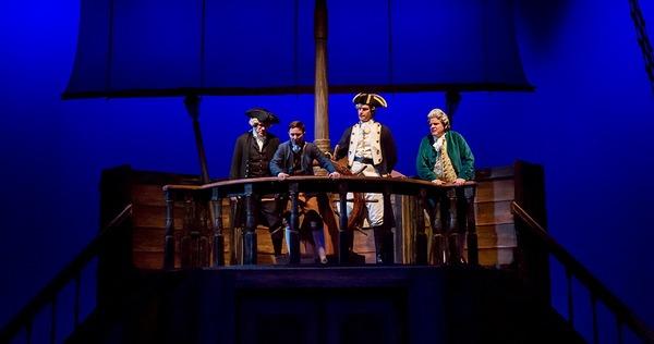 Photo Flash: Ken Ludwig's TREASURE ISLAND Sails Into Cincinnati Playhouse