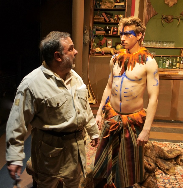 Photo Flash: First Look at Mad Horse Theatre's Production of THE EXPLORER'S CLUB