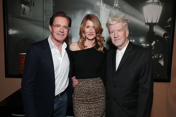 Photo Coverage: Laura Dern, David Lynch & More At Showtime's TWIN PEAKS Emmy Event