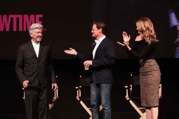 David Lynch, Kyle MacLachlan and Laura Dern