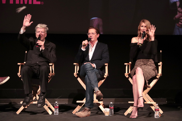 David Lynch, Kyle MacLachlan and Laura Dern