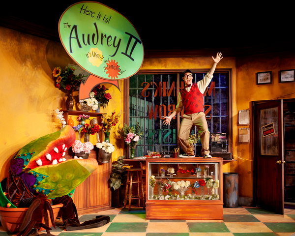 Photo Flash: First Look at Rivertown's LITTLE SHOP OF HORRORS