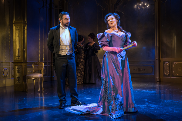 Nathaniel Parker as Lord Chiltern, Frances Barber as Mrs Cheveley