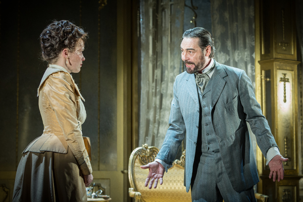 Nathaniel Parker as Lord Chiltern, Sally Bretton as Lady Chiltern