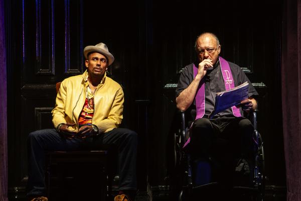 Hill Harper & John Doman Photo
