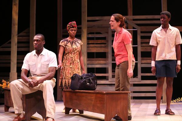 Photo Flash: CARDBOARD PIANO Comes to International City Theatre