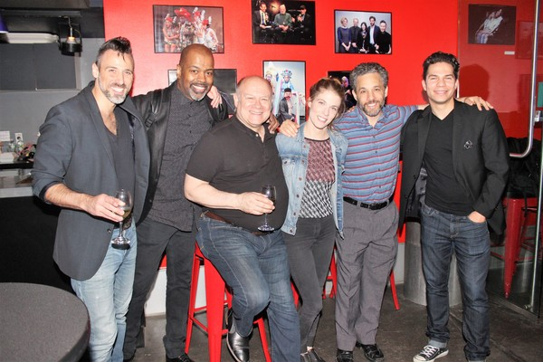 Joey Calveri, Lance Roberts, Joel Blum, Morgan Weed, Jeffrey Schecter and Miquel Jarq Photo
