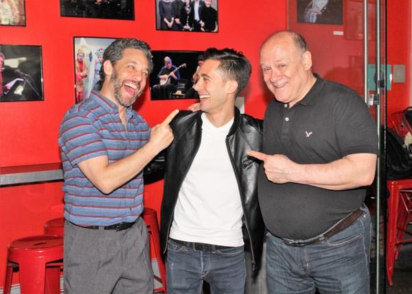 Jeffrey Schecter, Mike Wartella and Joel Blum Photo