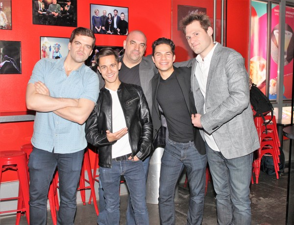 Jonathan Shew, Mike Wartella, Paul Salvatoriello, Miquel Jarquin-Moreland and Kenneth Ferrone
