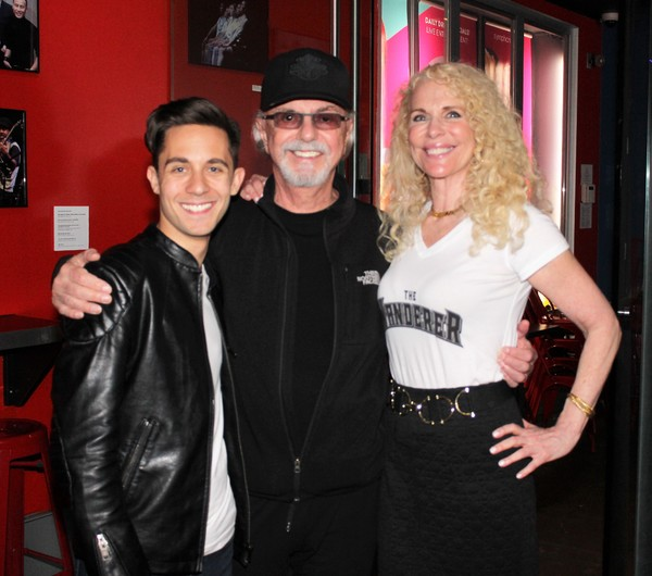 Mike Wartella, Dion DiMucci  and Jill Menza Photo