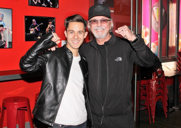 Mike Wartella and Dion DiMucci  Photo