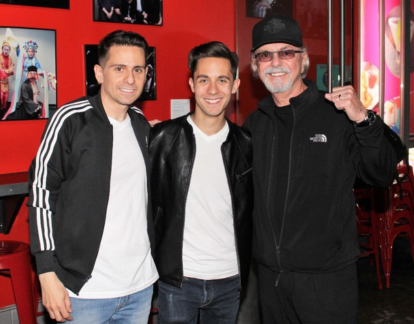 Charles Messina, Mike Wartella and Dion DiMucci  Photo