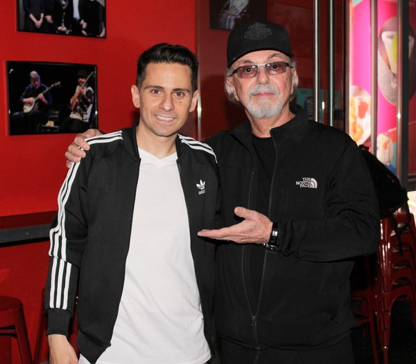 Charles Messina and Dion DiMucci  Photo