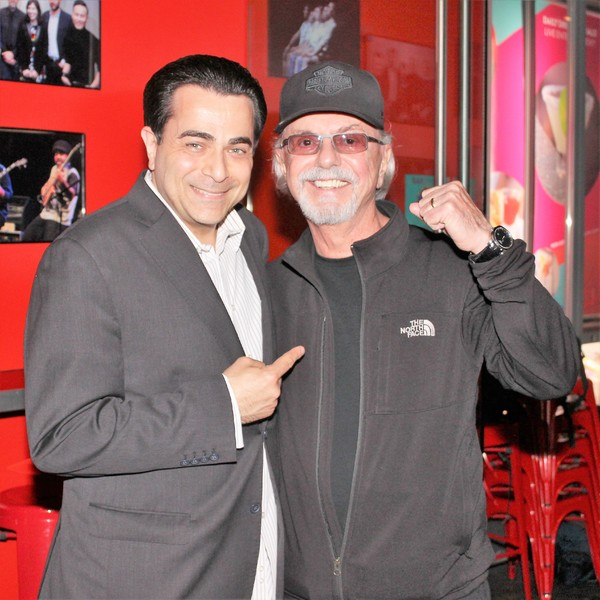 Johnny Tammaro and Dion DiMucci  Photo