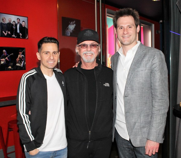 Charles Messina, Dion DiMucci  and Kenneth Ferrone