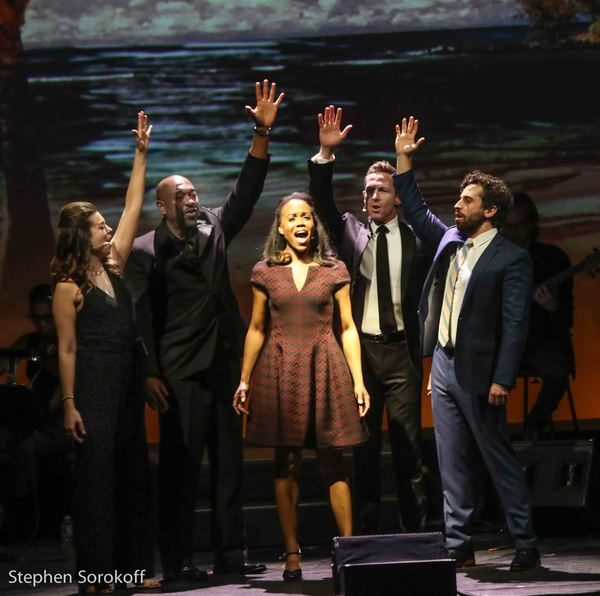 Margo Seibert, Alton Fitzgerald White,Nikki Renee Daniels, David Harris, Brandon Uranowitz
