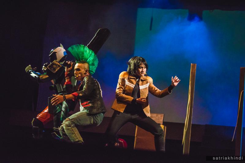 BWW Review: Robots Take Over the Stage in H2O REBORN RUPAKA