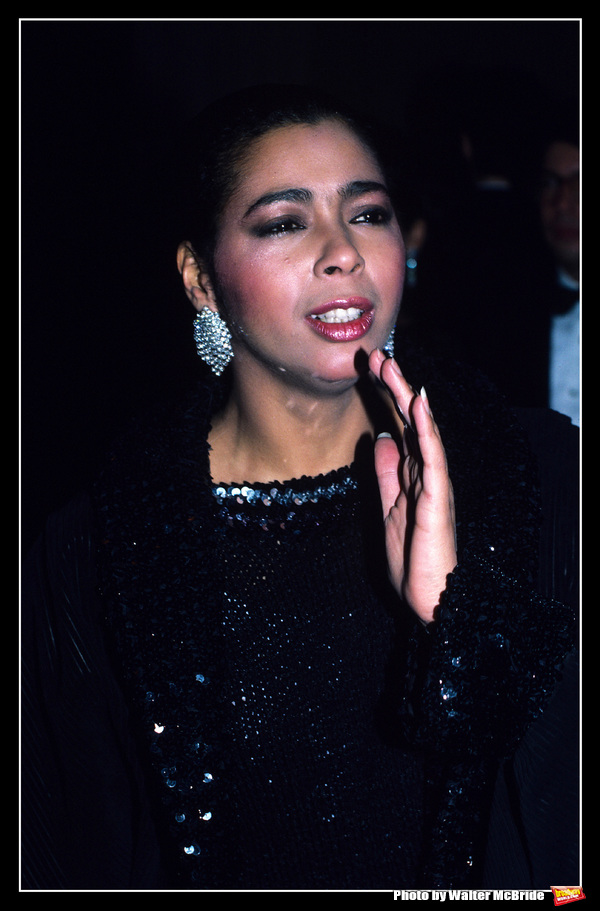 Photo Throwback: Irene Cara Poses on the Red Carpet in 1984