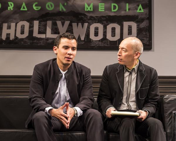 Conrad Ricamora and Francis Jue
