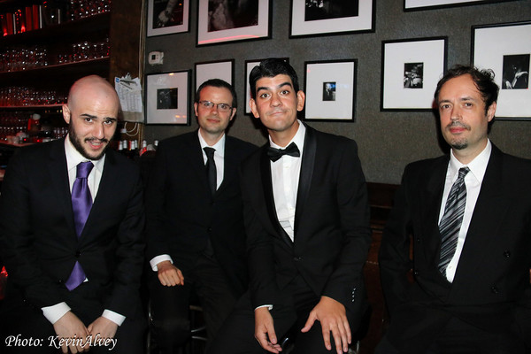 Evan Gregor, David La Moureaux, Josh Plotner Photo