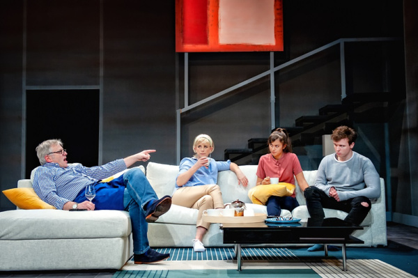 THE BE ALL AND END ALL with Jonathan Guy Lewis, Imogen Stubbs, Robyn Cara and Matt Whitchurch plays at York Theatre Royal from 4-19 May.       Photo: Anthony Robling